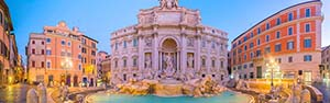 Attractions touristiques Rome